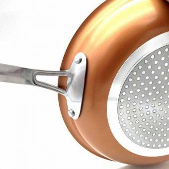 sarten cobre copper kitchen 24 cm teletienda outlet anunciado en tv