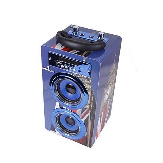 Samphone Altavoz Bluetooth Karaoke 10W BT-J8KB teletienda anunciado en tv outlet
