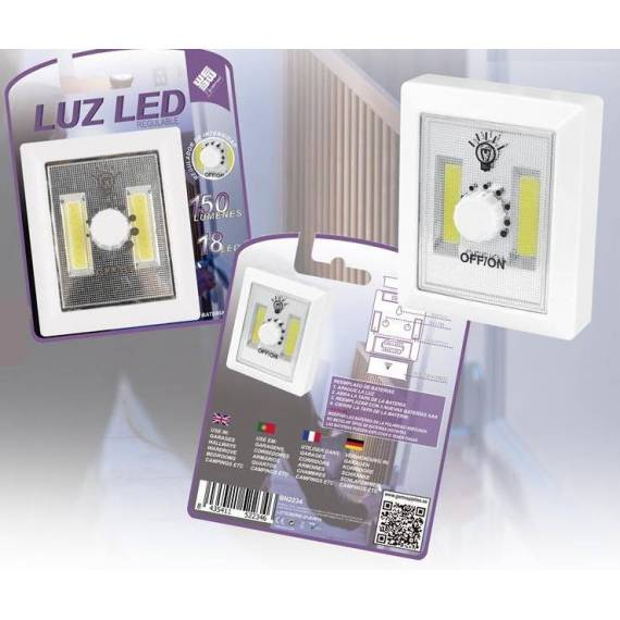 luz led cob teletienda outlet anunciado tv