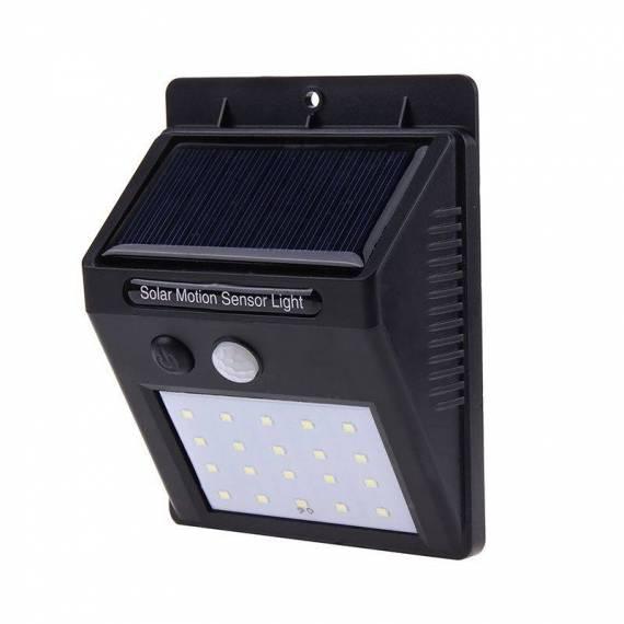 Luz Led Solar 20 led con Sensor Movimiento teletienda outlet anunciado en tv