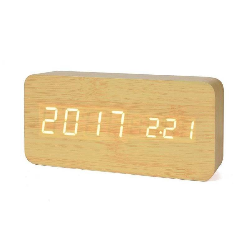 426dd111c75f reloj despertador madera sanda teletienda outlet anunciado tv