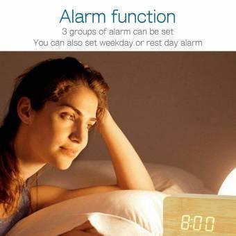 reloj despertador madera sanda teletienda outlet anunciado tv