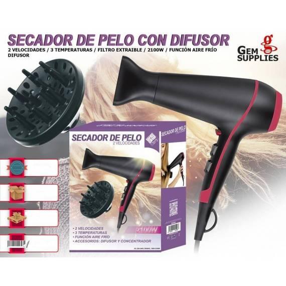 secador de pelo con difusor teletienda outlet anunciado tv