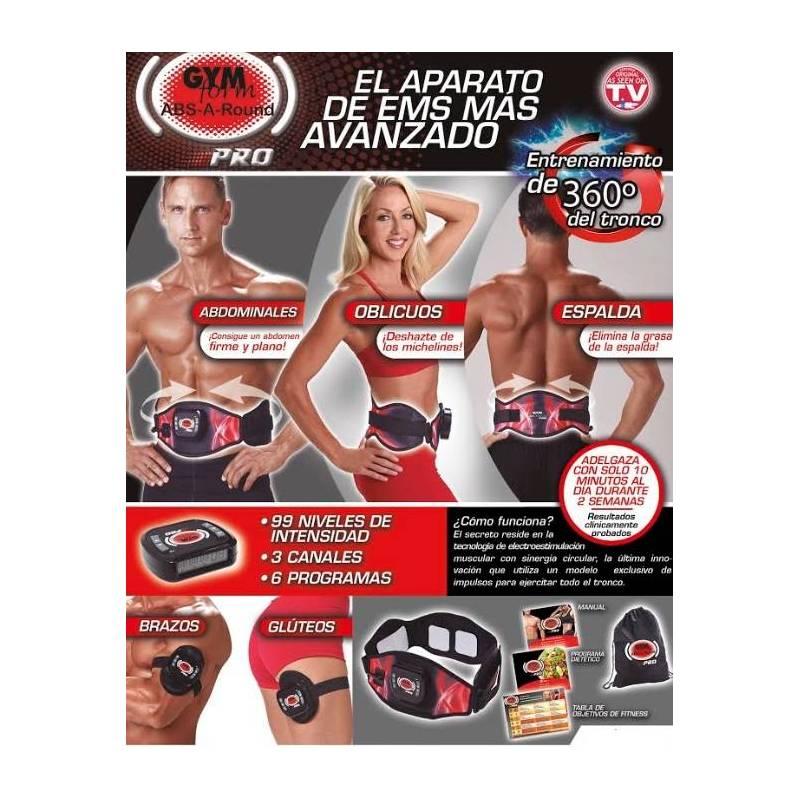 Cinturón ABS-A-Round Pro Platinum teletienda outlet anunciado tv