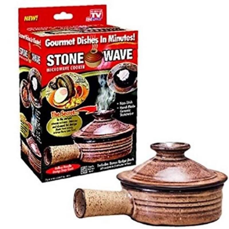 Stone Wave Cocina sana Microondas