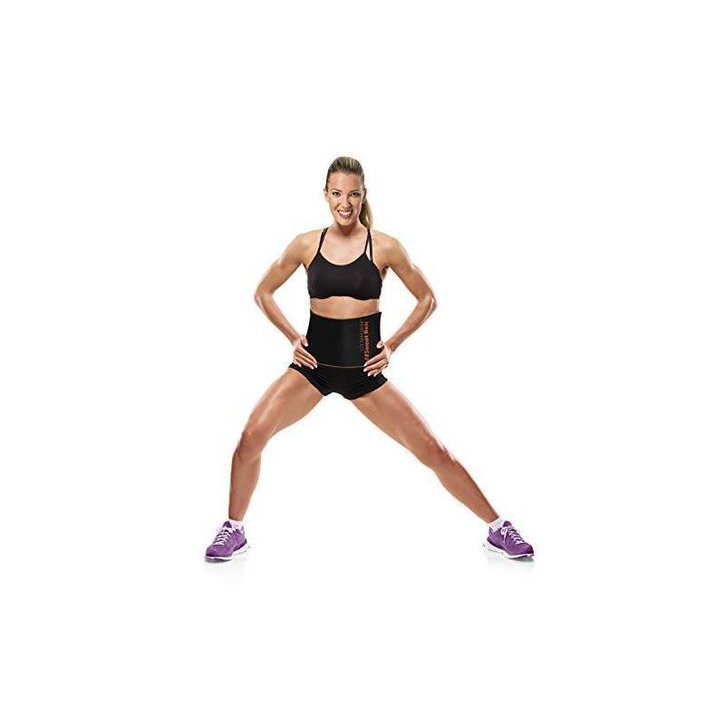Faja Sauna Sweat Belt Gym Form teletienda outlet anunciado tv