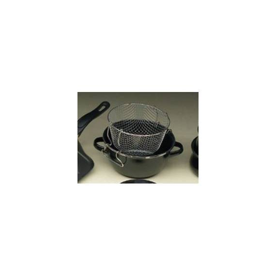 Freidora 20* Con cestillo  - BLACK - MAGEFESA