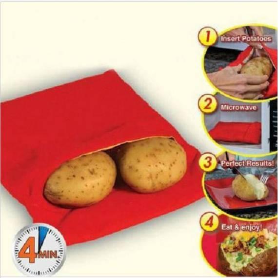 Bolsa Patatas al Vapor Microondas