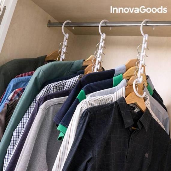 Organizador de Perchas para 40 Prendas InnovaGoods (24 Piezas)