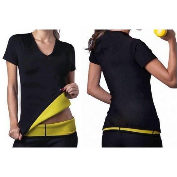 Camiseta Sauna fitness para quemar grasa Reducir