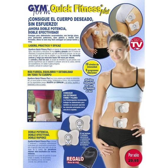 Electroestimulador Gymform Quick Fitness Plus
